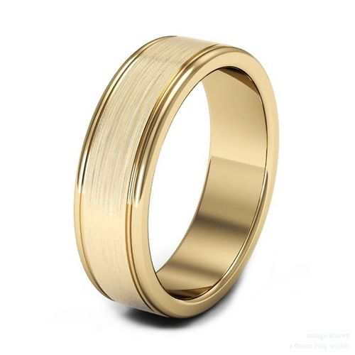 1 27 Mm 18ct Pure Welsh Gold Wedding Ring