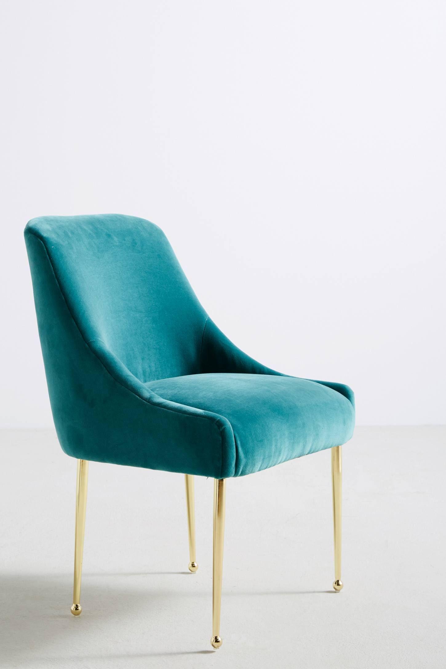 Best Velvet Elowen Chair By Anthropologie In Pink Size All 400 x 300