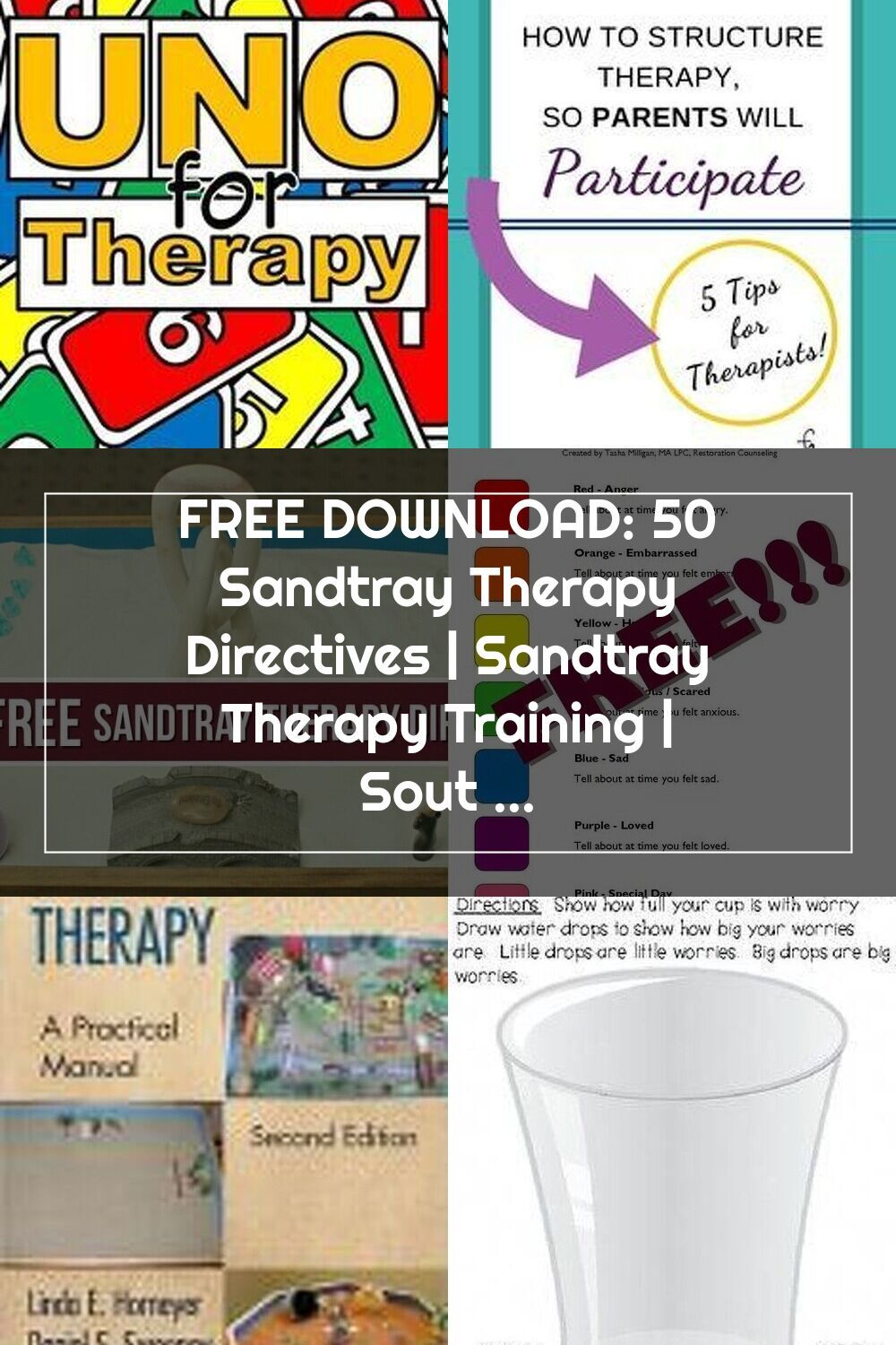 Free Download 50 Sandtray Therapy Directives