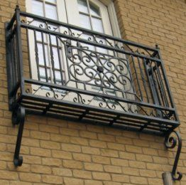 Iron Window Grate Metal Window Grill W005 China Mainland Windows Iron Balcony Balcony Railing Patio Railing