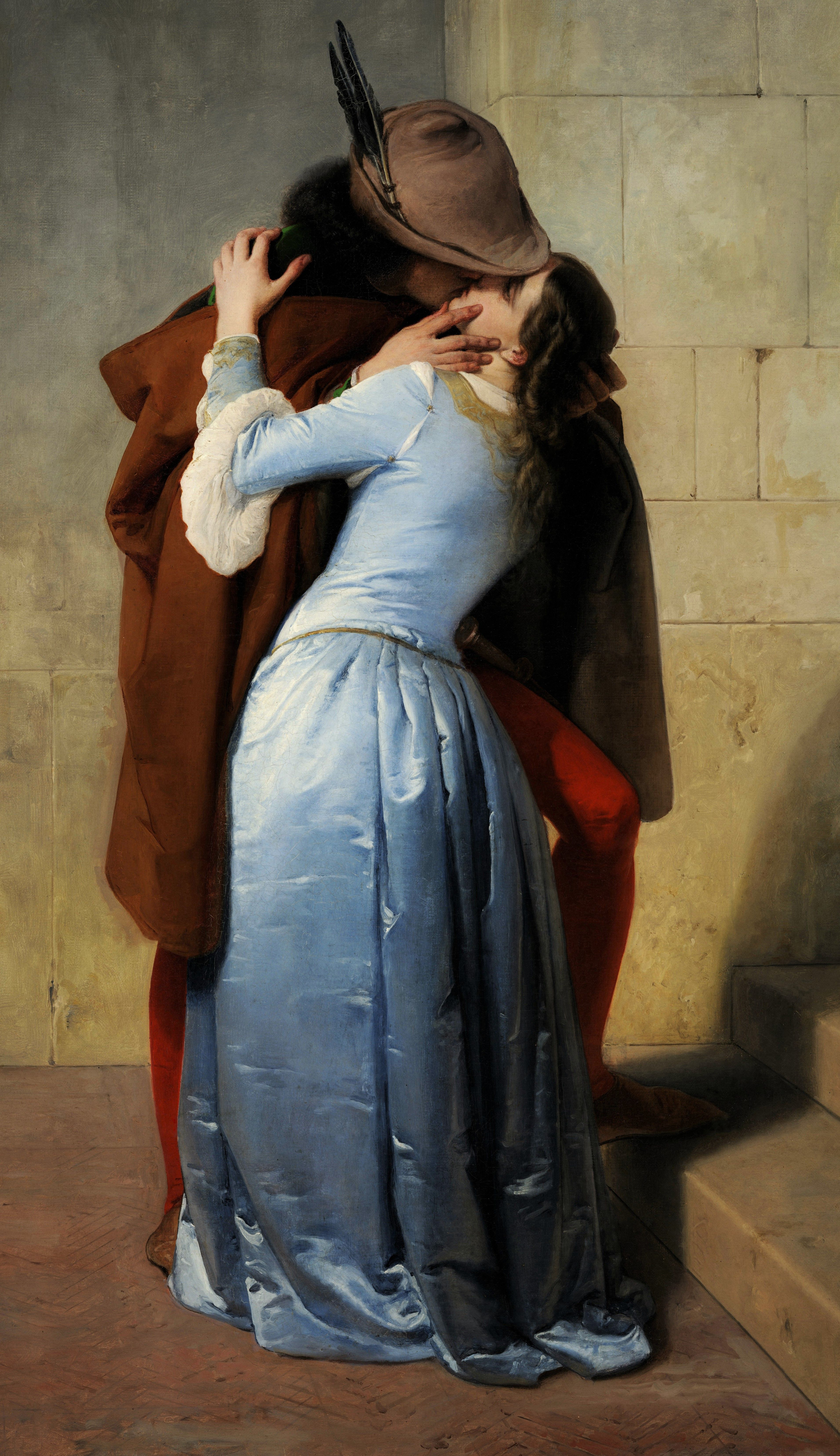 """The Kiss"" by Francesco Hayez,1859 | Arte classica ..."