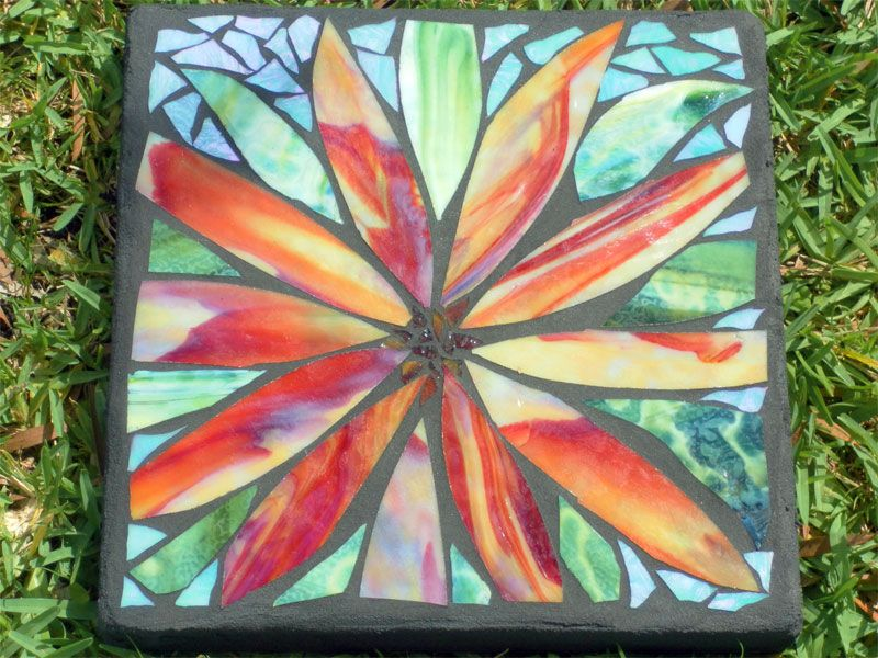 Diy or buy how to make a garden mosaic stepping stone or where diy or buy how to make a garden mosaic stepping stone or where pronofoot35fo Images
