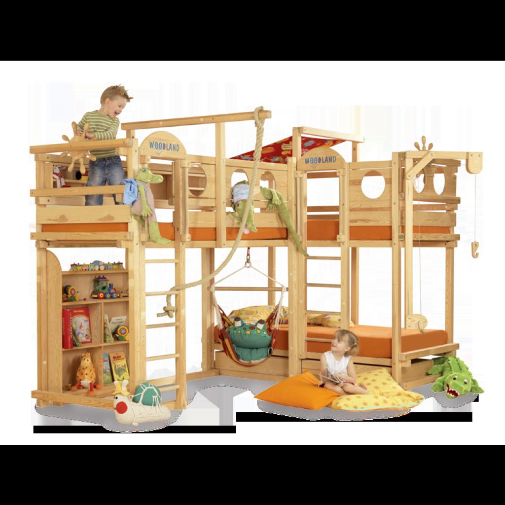 Letti A Castello Woodland.Bunk Bed El Dorado Bambini Letti A Castello Letti Loft Letti Di Design