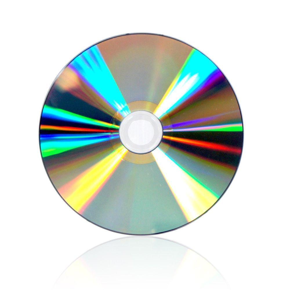 50 Pcs SmartBuy Shiny Silver Top CD-R CDR 52X 700MB/80Min Blank Recordable Disc #UnbrandedGeneric