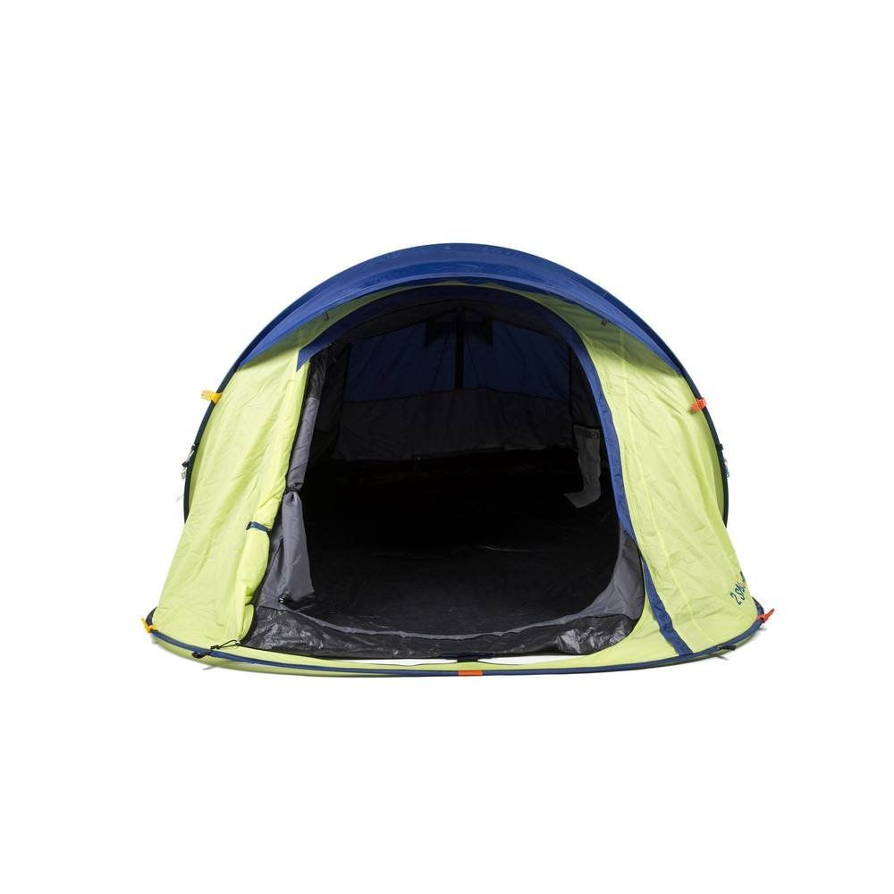 Quechua 2 Seconds Waterproof Pop Up Camping Tent Easy To Assembly For 2 Man Green Backpackingtents Backpacking Tent Tent Pop Up Camping Tent