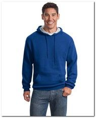 Sport-Tek Mens Tall Pullover Hooded Sweatshirt