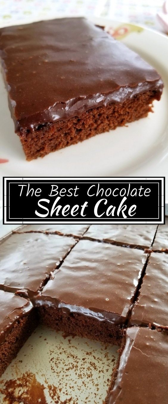 The Best Chocolate Sheet Cake images