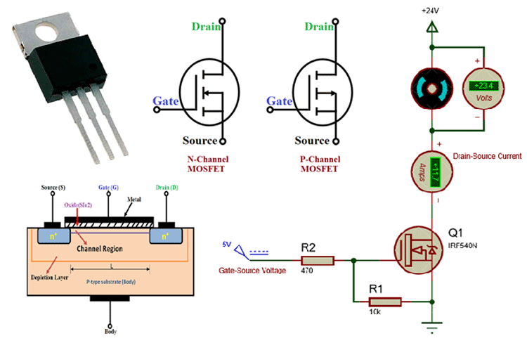 What Is Mosfet Symbol Working Types Different Packages In 2020 Switched Mode Power Supply Circuit Design Circuit Diagram