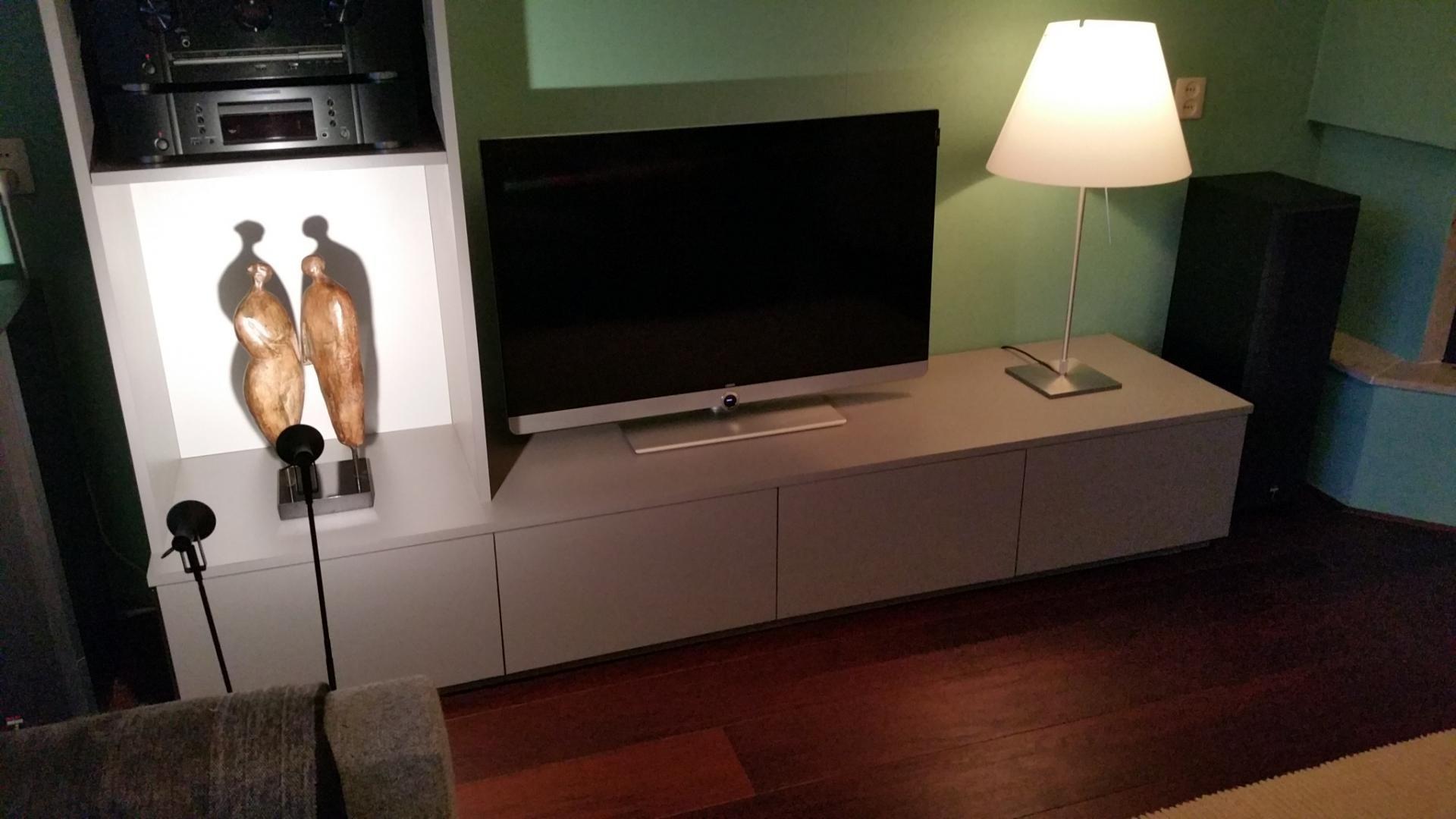 Tv Kast Alkmaar.Tv Meubel Op Maat Gemaakt Van Mdf Meubelen Op Maat Meubels Tv
