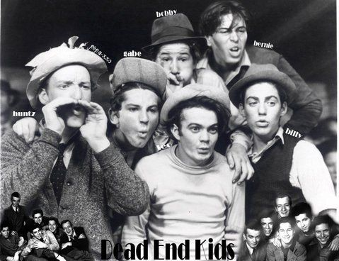 The Dead End Kids The Bowery Boys Bowery Classic Hollywood