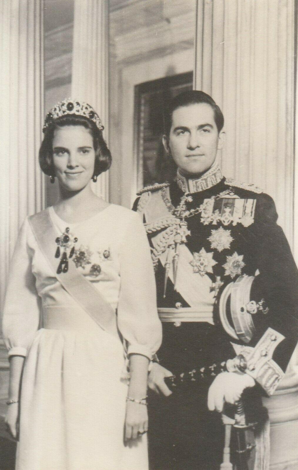 Original Pressefoto Konigin Anne Marie Konig Constantin Adel Royal Greece Ebay Griechisches Konigshaus Adele Konigshaus
