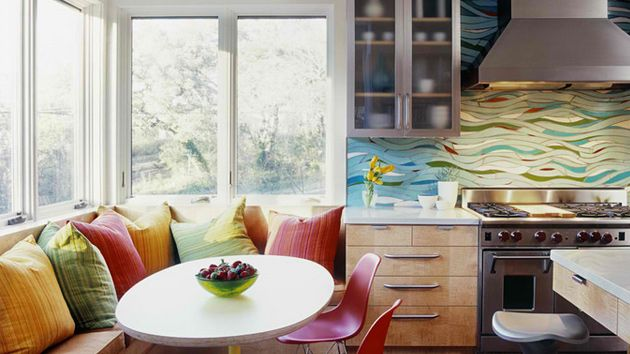 Banquettes Or Nooks For The Kitchen Which We Have At Home Are A Small Area  Where