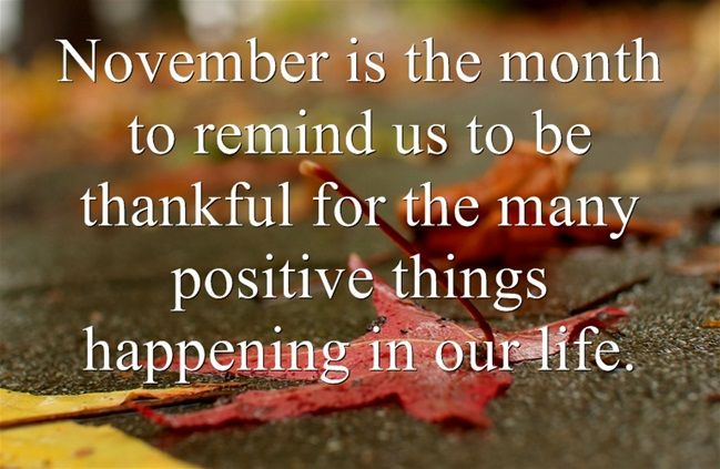 Image result for november quotes
