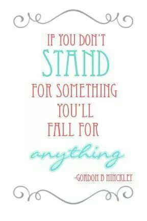 Best Quotes Today Unless We Stand For Something We Shall Fall For