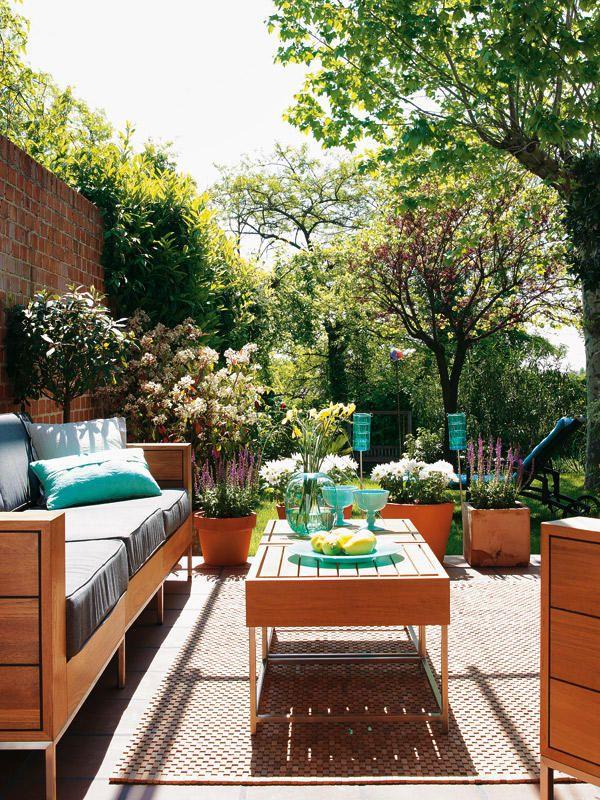 C mo decorar la terraza o el porche terrazas jardines y for Decoracion de terrazas con plantas