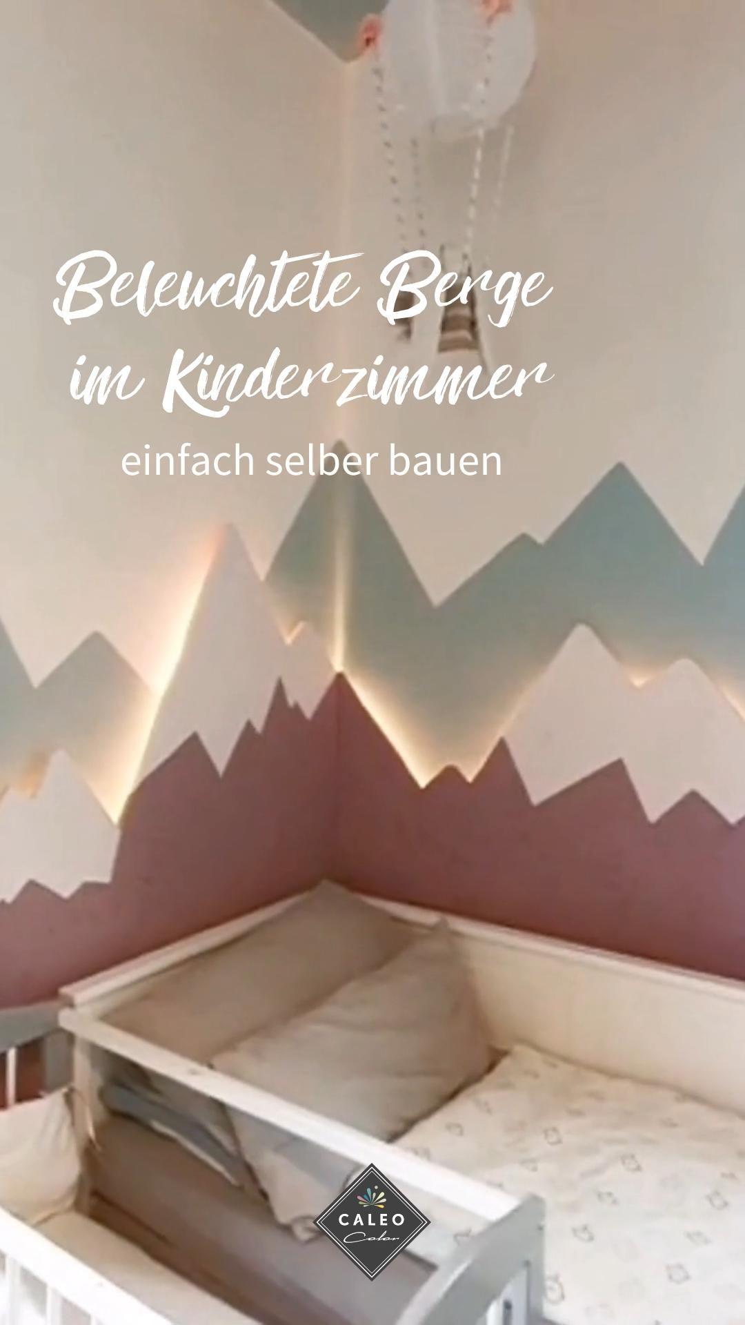 Kinderzimmer: Berge beleuchten Anleitung