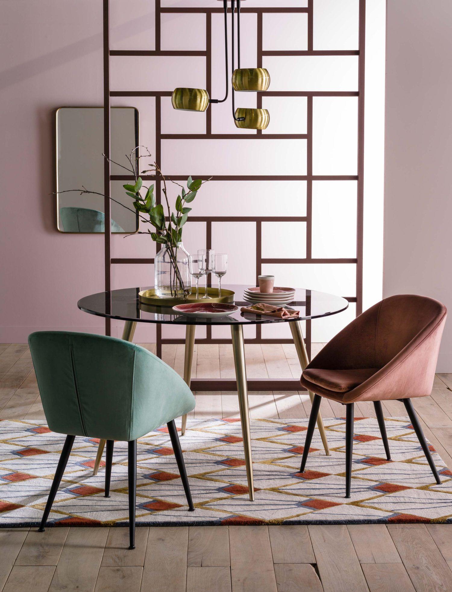 La Redoute Interieurs Plus De 70 Ambiances Deco Tapis Art Deco Salle A Manger Verte Interieur Art Deco