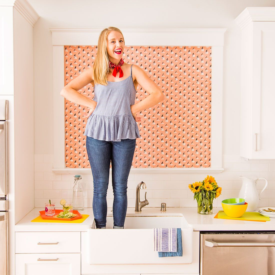 An Easy Diy For A Boring Apartment: Save This Step-by-step DIY Project To Add A Little Color