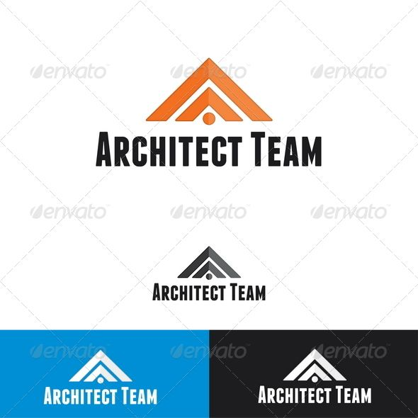 Architect Team Logo Template | Logo templates, Team logo and Template