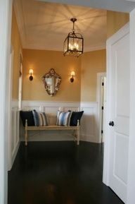 Wall Colors I Like White Wainscoting