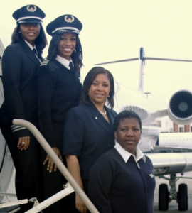 first african american test pilot   First All Female African American Flight Crew   Magic 95.9