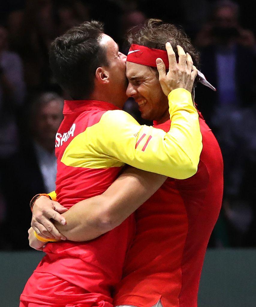 Photos Video Team Spain Won The Davis Cup 2019 25 Noyabrya 2019 Rafa Nadal King Of Tennis Rafael Nadal