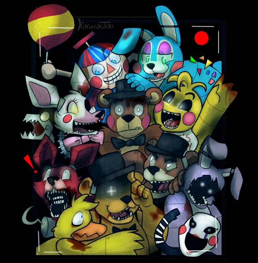 Five Nights At Freddy S Five Night Fnaf