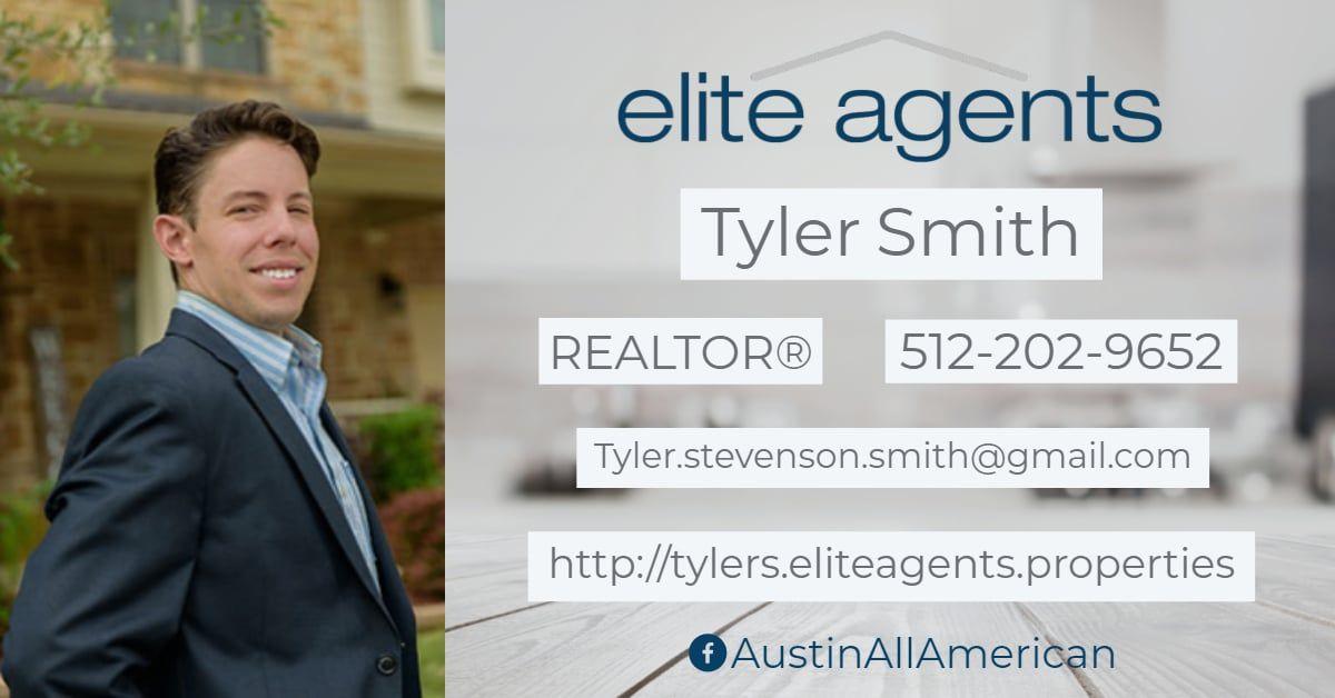 Elite Agents Tyler Smith to the brokerage! Tyler