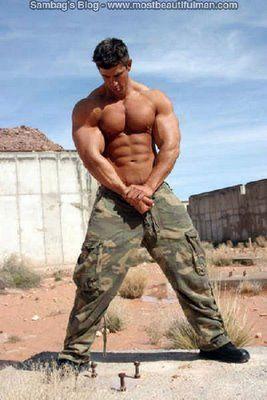 military Hot men us