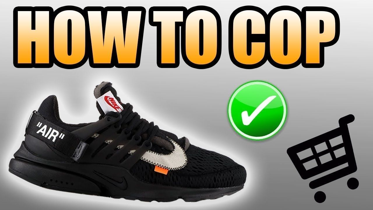30042aa032a How To Get The BLACK OFF WHITE PRESTO ! Black Off White Presto Release .