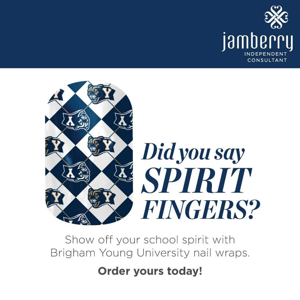 Collegiate Jamberry Nails! Get yours before the semester starts ...