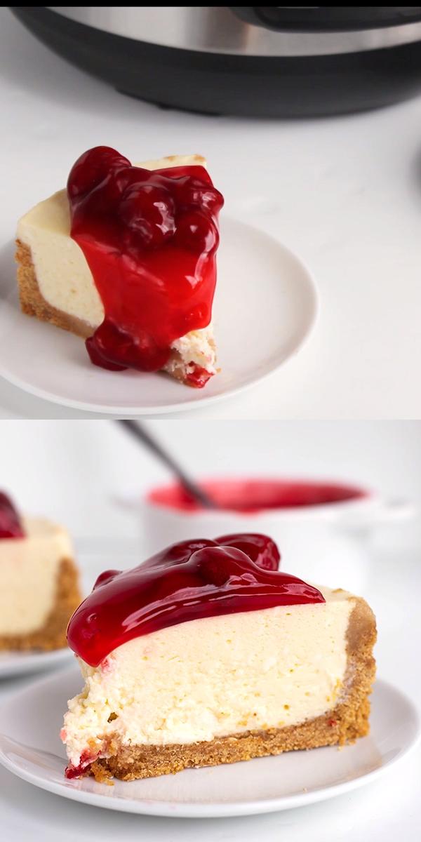 Instant Pot Cheesecake #instantpotrecipes
