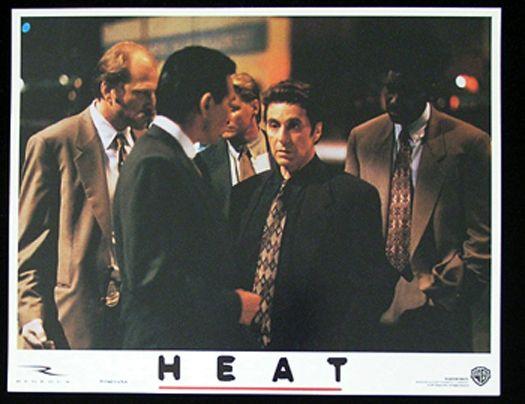 Heat Lobby Card 2 1995 Robert Deniro Al Pacino Val Kilmer Heat