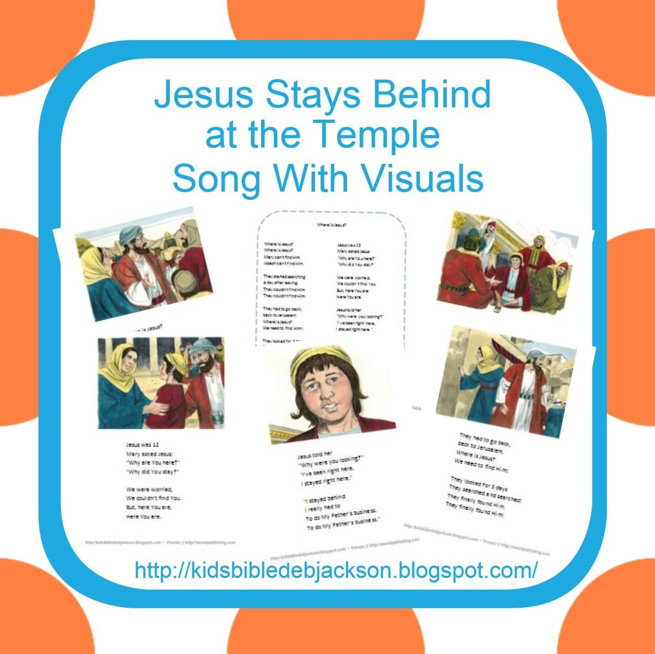 Jesus Stays Behind at the Temple | Bible: Songs | Pinterest
