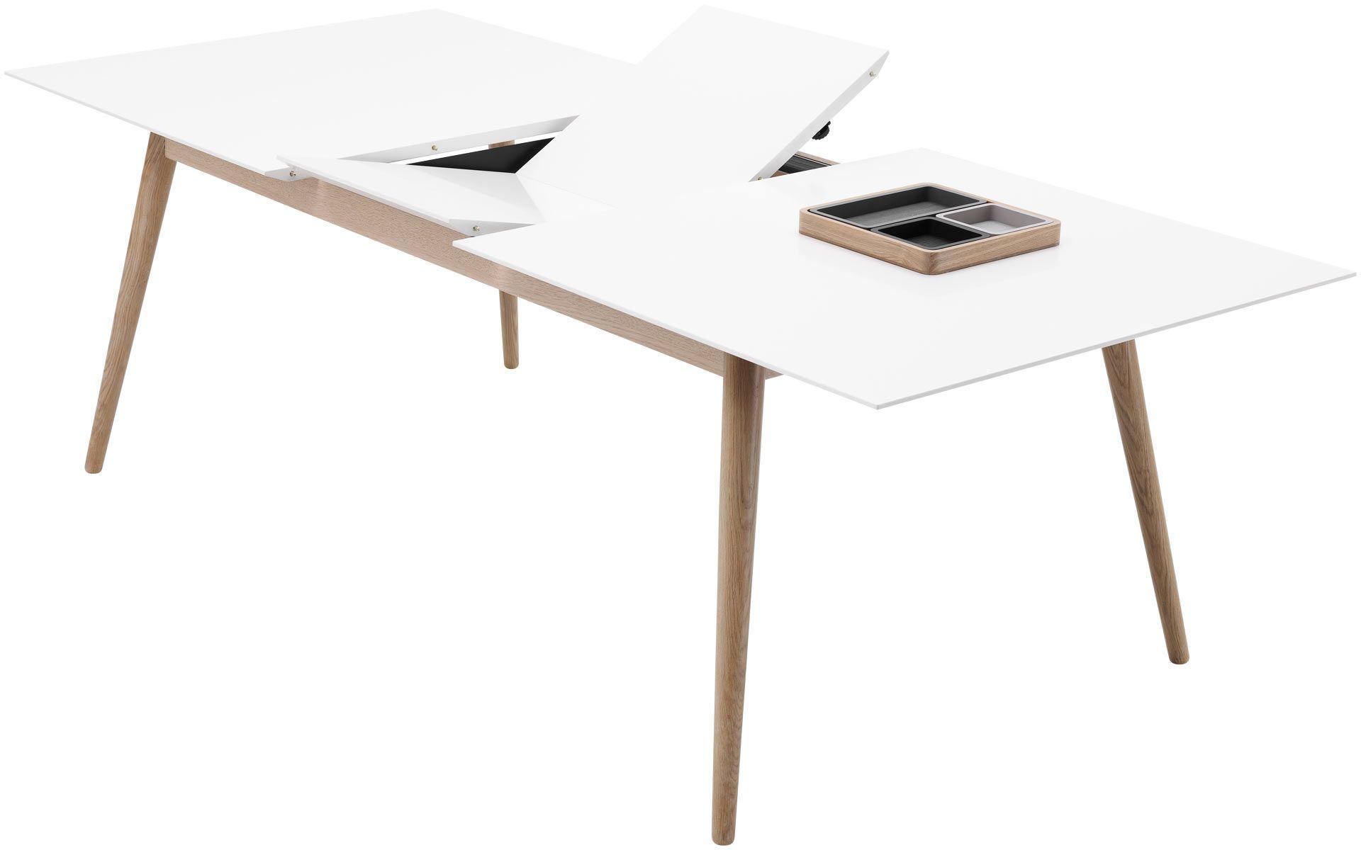 Simple Functional Scandinavian Design Esstisch Holz Ausziehbar