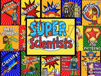 Super Scientists - Science Bulletin Board | Science bulletin ...