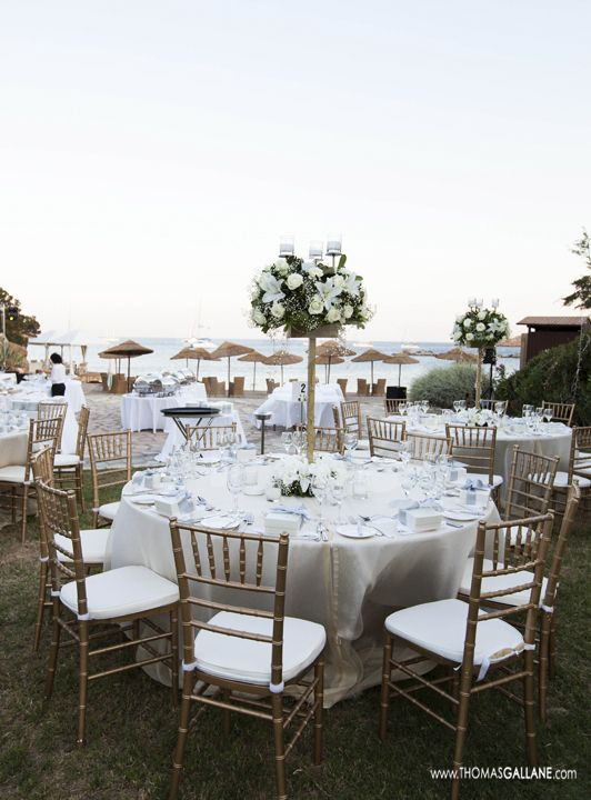 Elegant Beach Wedding Sounio Greece Www Sandimentalmemories Com