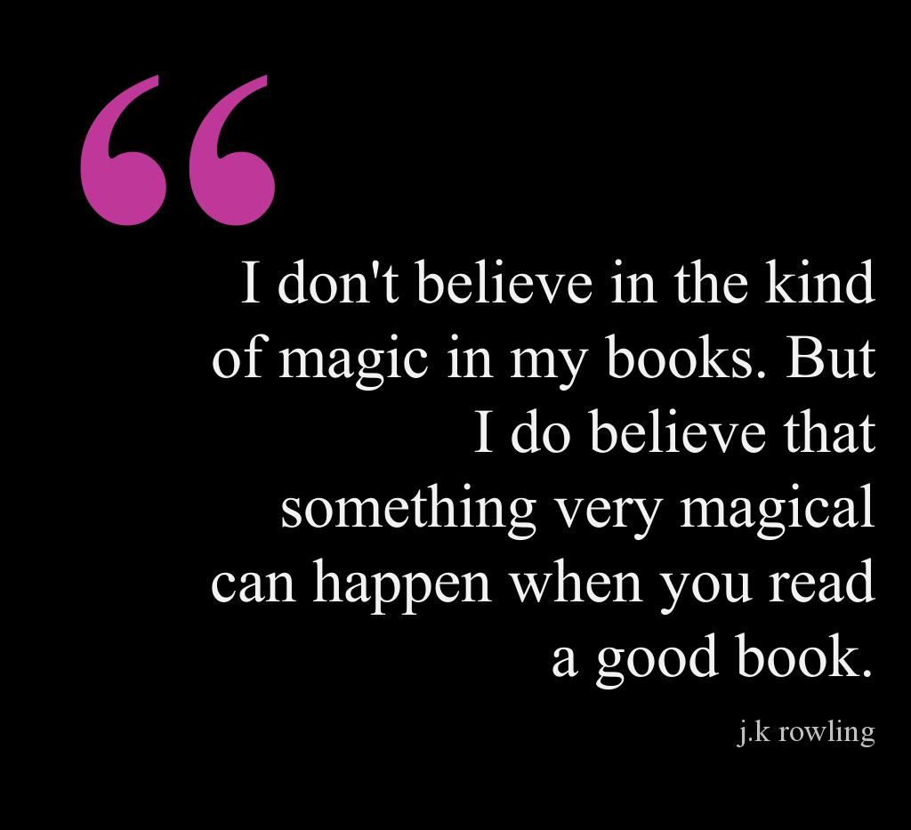 Happy Birthday J.K Rowling, and thanks for all the magic you've created for kids and adults alike.