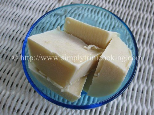 Coconut Ice Block Trini Food Trinidad Recipes Island Food