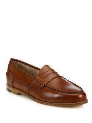 f775d580aee MANOLO BLAHNIK Ellen Leather Loafers. Haven t worn penny loafers in years