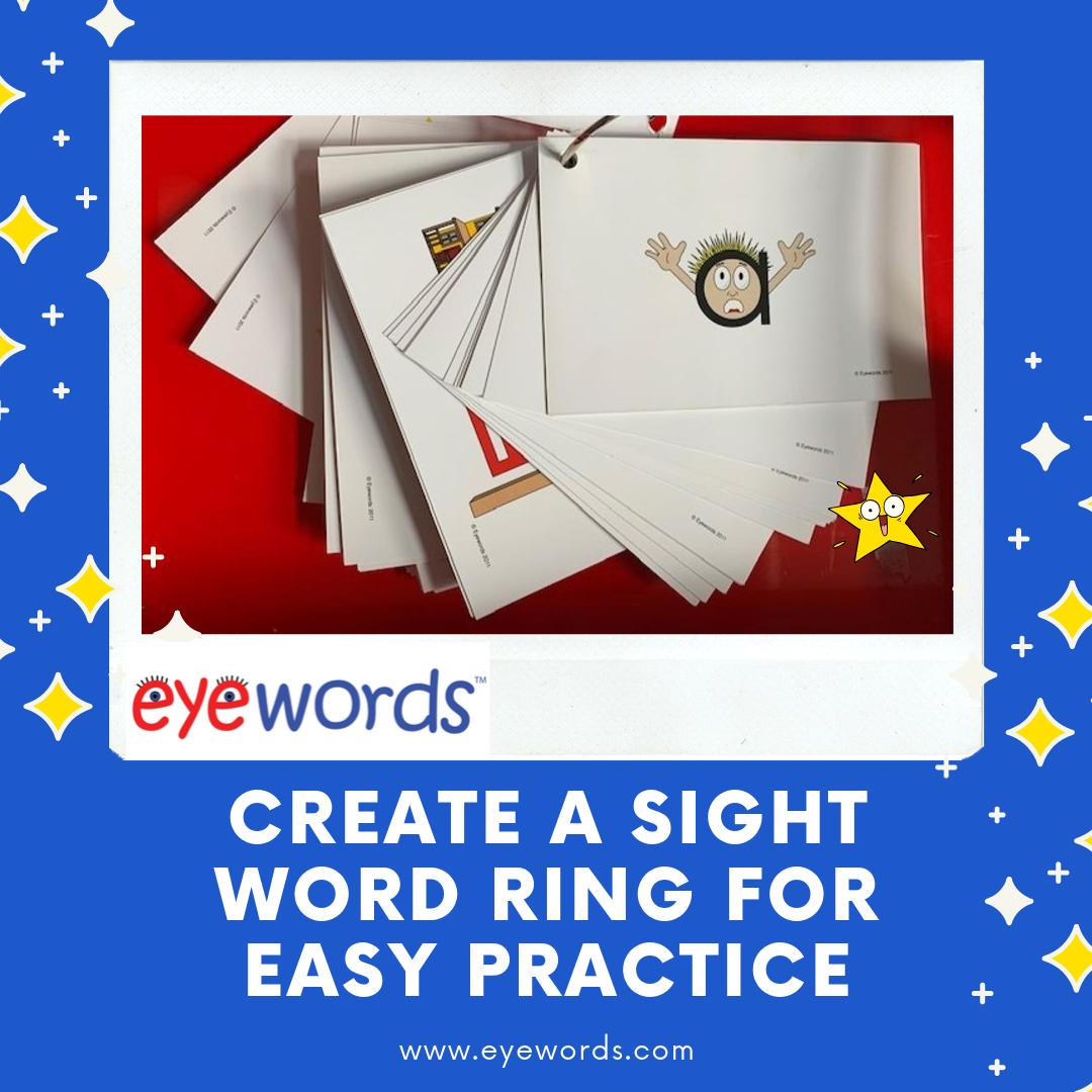 Eyewords Multisensory Sight Words