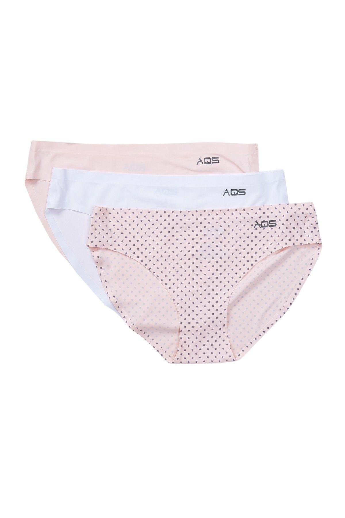04561f05b673c Assorted Seamless Bikini Cut Panties - Pack of 3
