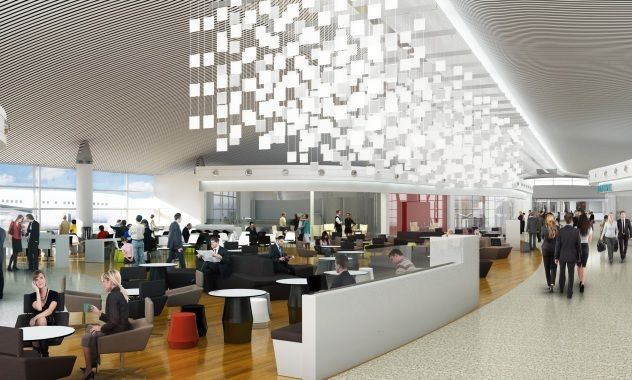 Dining Area Airport Design Perth Airport Airport Lounge