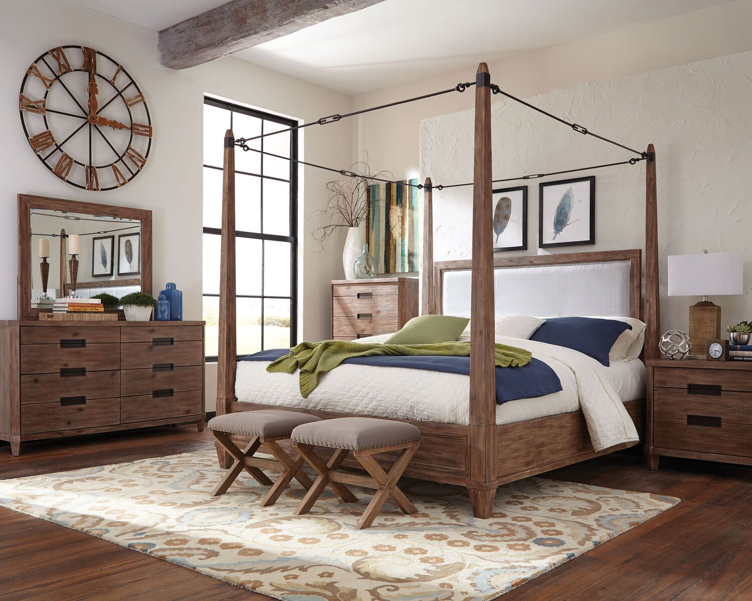 Donny Osmond Home Canopy bedroom sets, Canopy bedroom