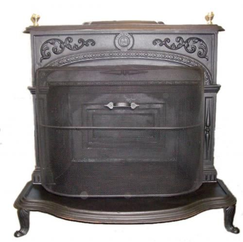 All Antique Stoves for Heating for sale : Home Franklin #1 Wood ...