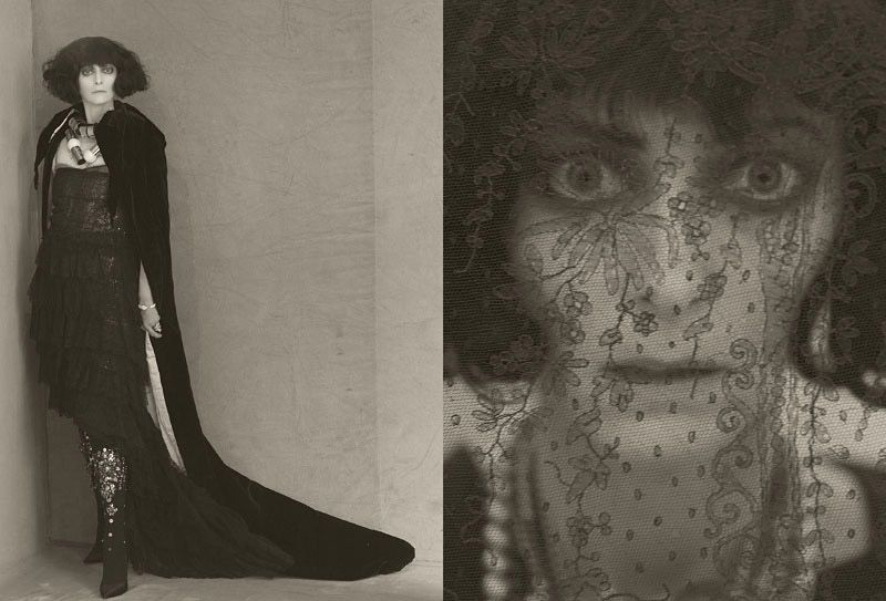 Photographer: Paolo Roversi (Marchesa Casati inspired fashion editorial, model Tilda Swinton)