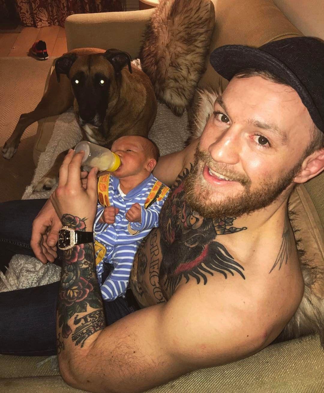 1 4 Mln Otmetok Nravitsya 8 369 Kommentariev Conor Mcgregor Official Thenotoriousmma V Instagram Th Connor Mcgregor Conor Mcgregor Baby Conor Mcgregor