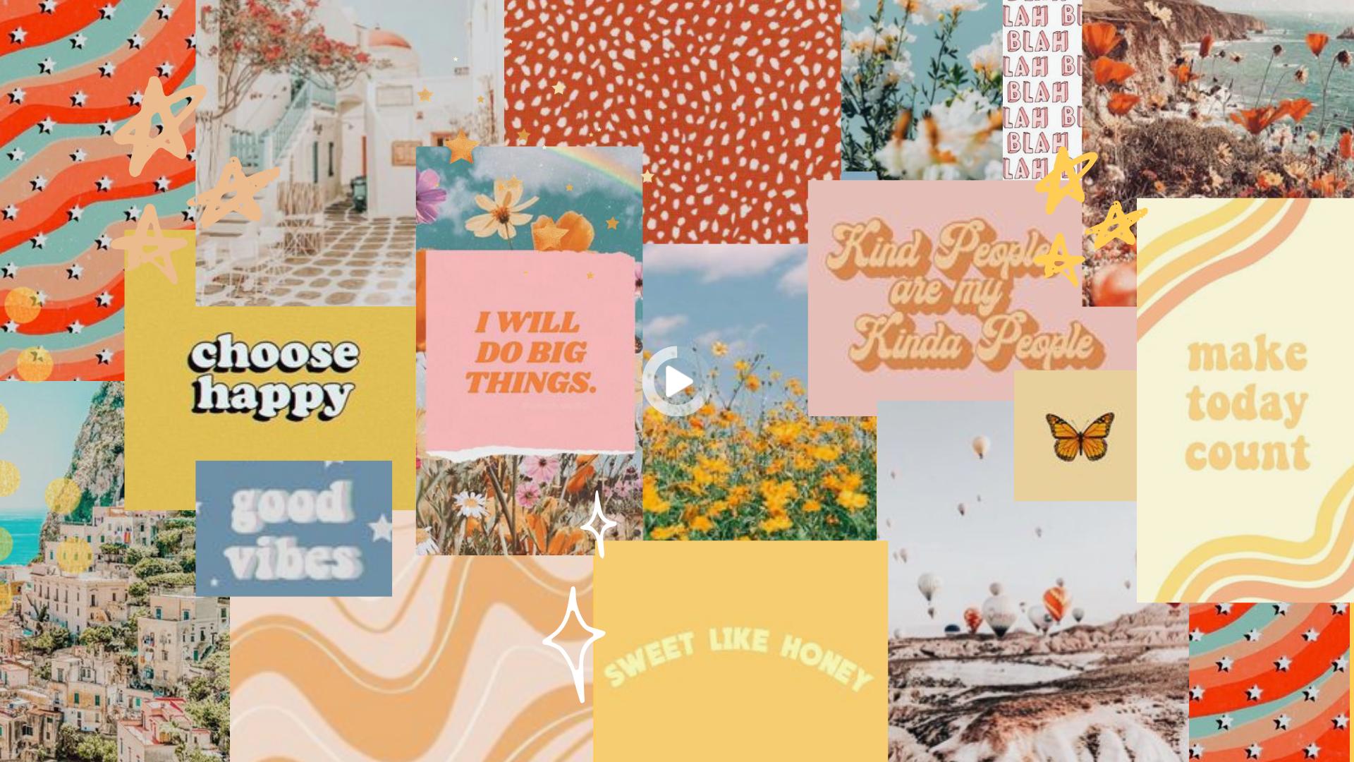 Collage De Estetica De Fondo De Escritorio In 2021 Cute Desktop Wallpaper Computer Wallpaper Desktop Wallpapers Aesthetic Desktop Wallpaper
