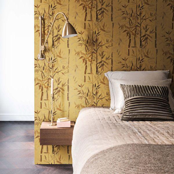 Behang - woonafdeling Boer Behang Pinterest - steintapete beige wohnzimmer