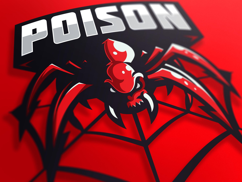 Poison mascot logo imagens)